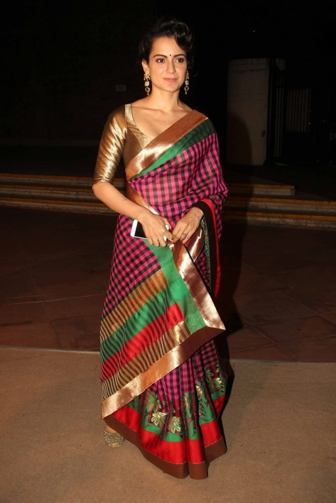 Kangana Ranaut Hot Wallpapers In Saree