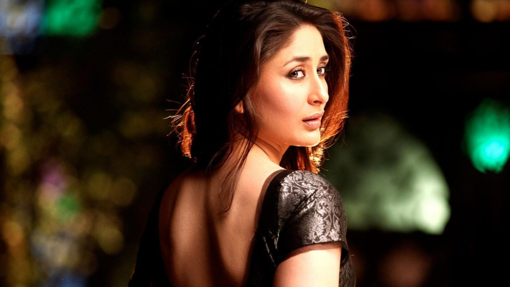 Kareena Kapoor Beautiful Spicy Photos Images In Back Side