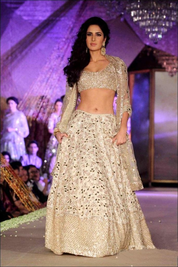 Katrina Kaif Hot In Gagra Choli Pictures Pics Photos