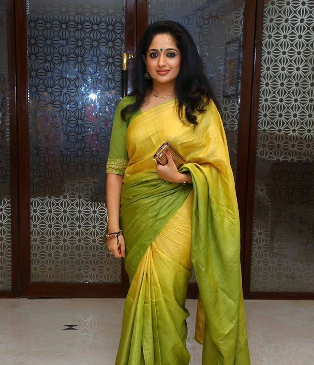 Kavya Madhavan In Saree Wallpapers