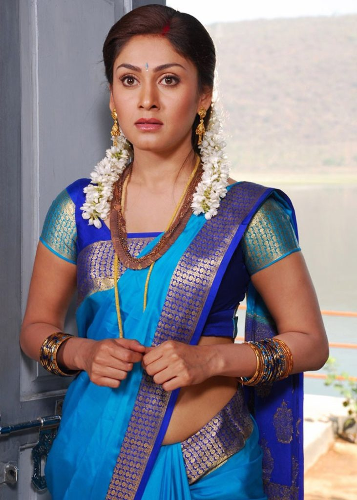 Manjari Phadnis In Saree Photos