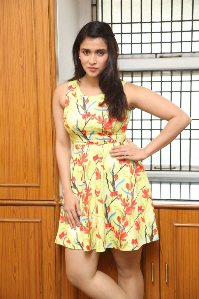 Mannara Chopra In Shorts Images