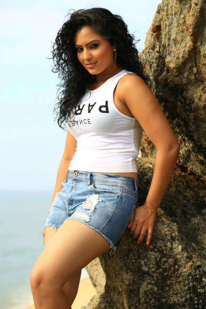 Nikesha Patel In Shorts Photos