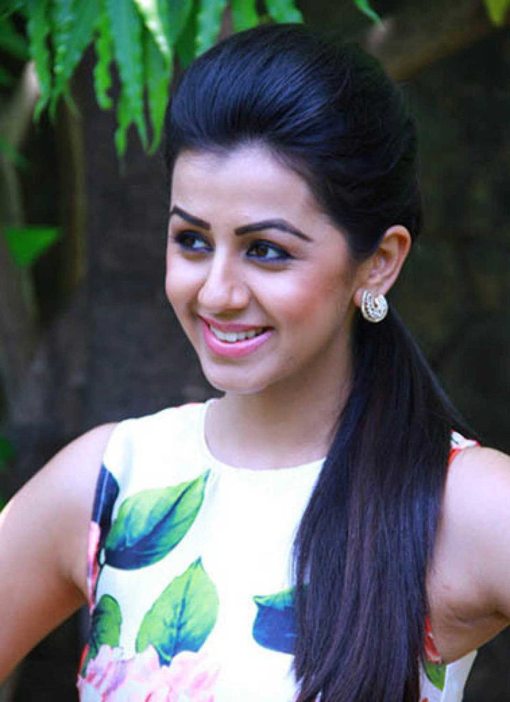 Nikki Galrani Cute Smile Photoshoot