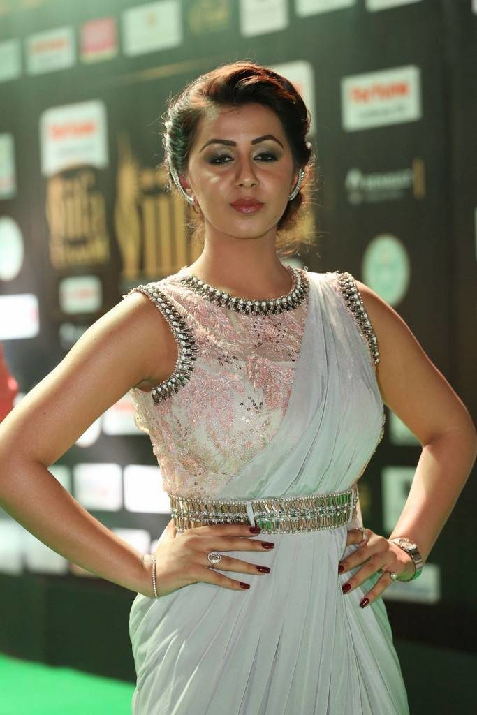 Nikki Galrani Images At Awards Nights