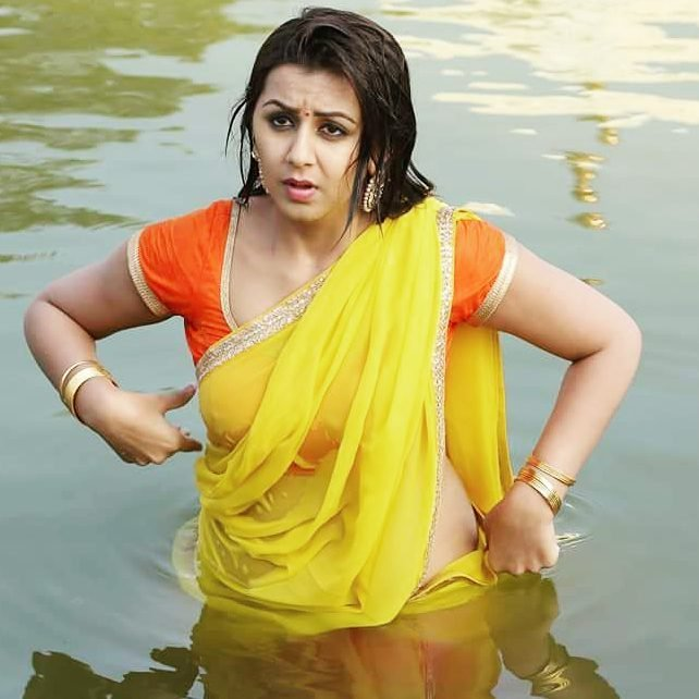 Nikki Galrani Navel Photos