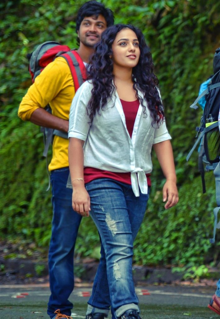 Nithya Menon In Jeans Top