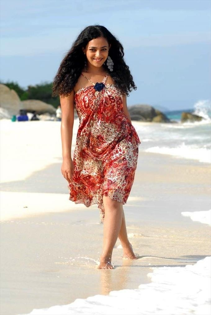 Nithya Menon In Shorts Pictures