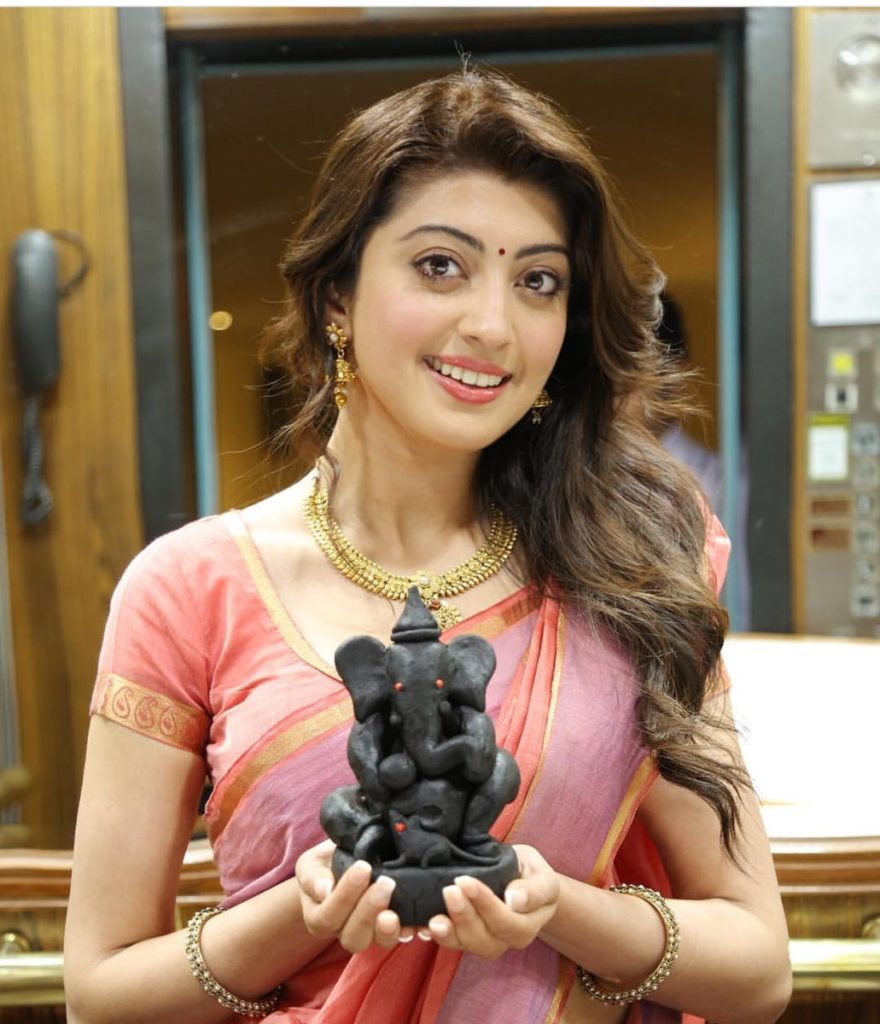 Pranitha Subhash In Saree Photos