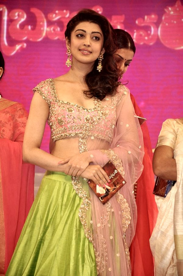 Pranitha Subhash Navel Photos Gallery