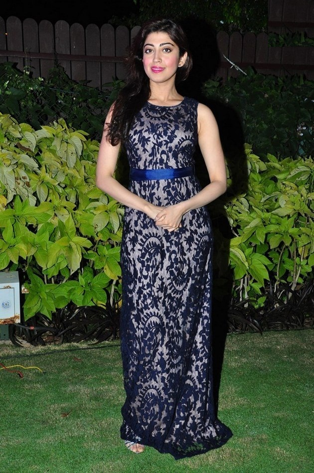 Pranitha Subhash Photos In Garden