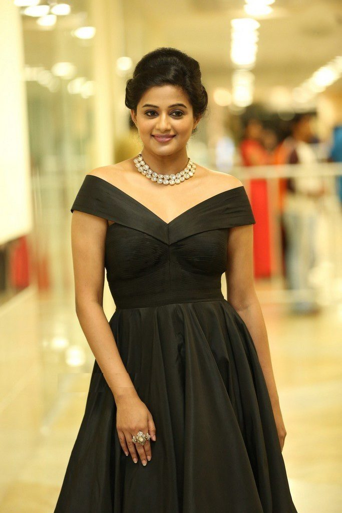 Priyamani In Black Clothes Pics At Event
