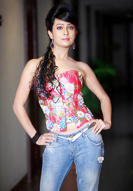 Radhika Pandit In Jeans Top Photos