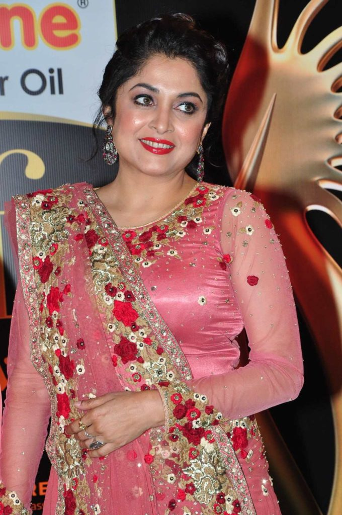 Ramya Krishnan In Saree Pics