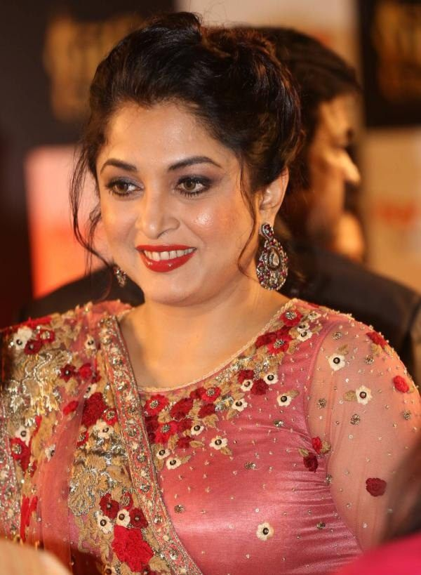 Ramya Krishnan New Hair Style Photos
