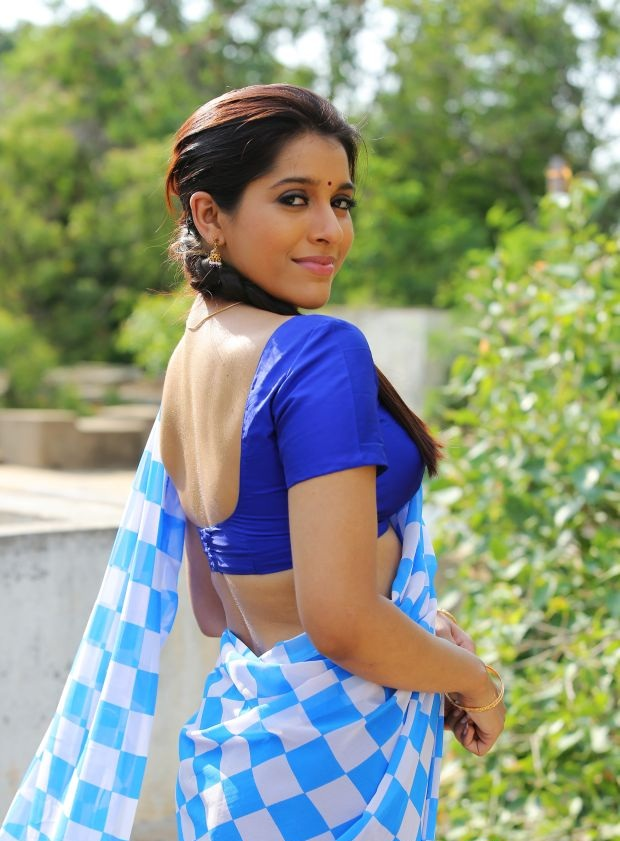 Rashmi Gautam In Backless Photos