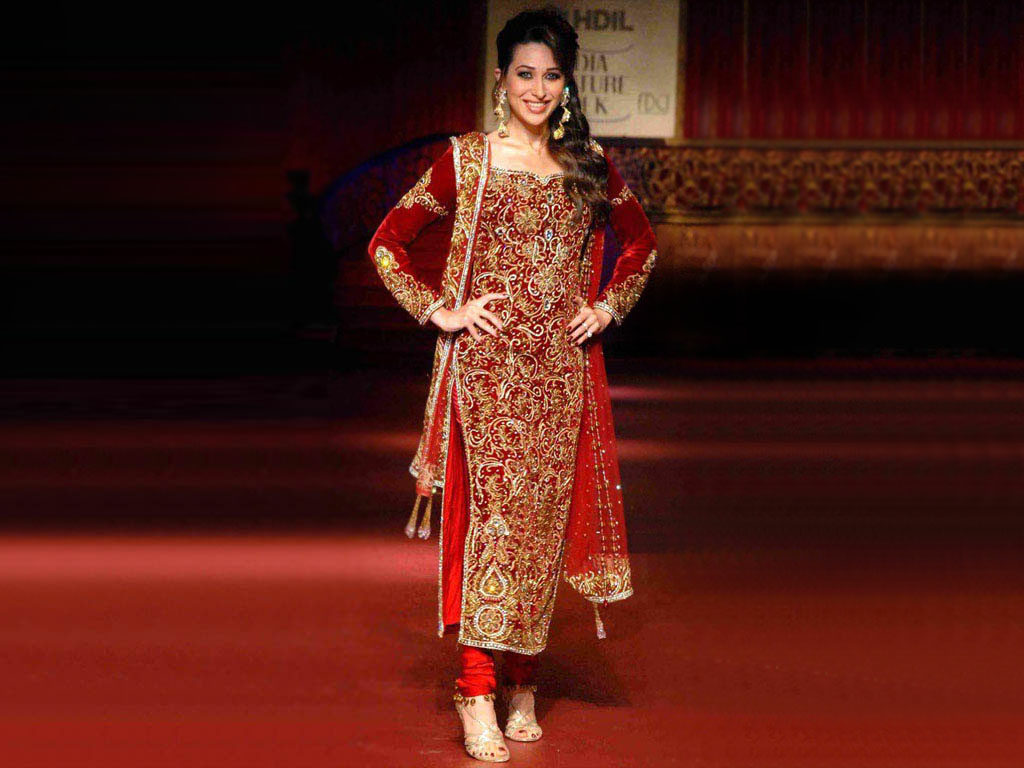 karisma kapoor in wedding dress wallpapers