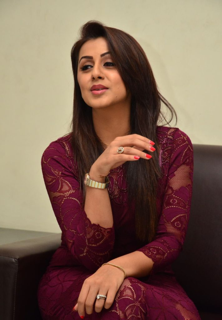 Nikki Galrani Hot Pics At Event